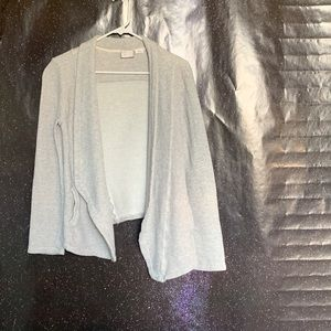 Postmark- Gray Open Front Knit Cardigan size Small